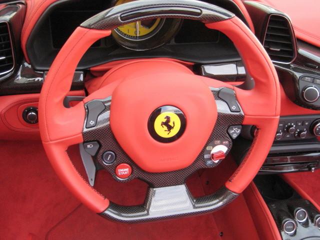 2012 Ferrari 458 Spider F1 DCT