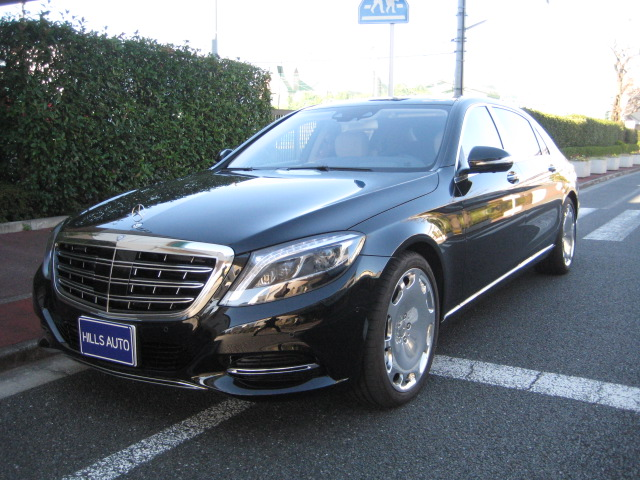 2015 MERCEDES MAYBACH  S550