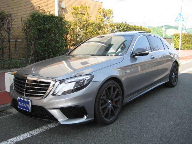 2014 MERCEDES AMG S63 4MATIC LONG DYNAMIC P.K.G