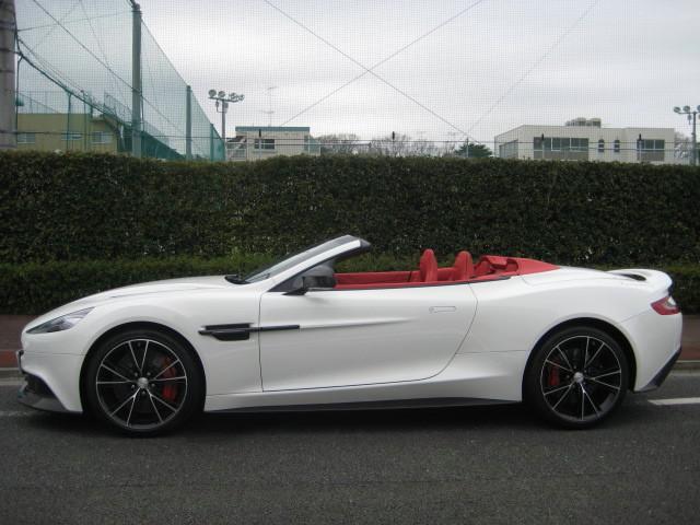 2016 Aston Martin Vanquish Volante 2017MODEL