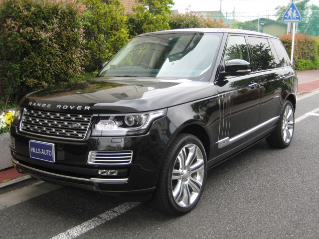 2015 Land Rover Range Rover AUTOBIOGRAPHY BLACKLONG 4WD