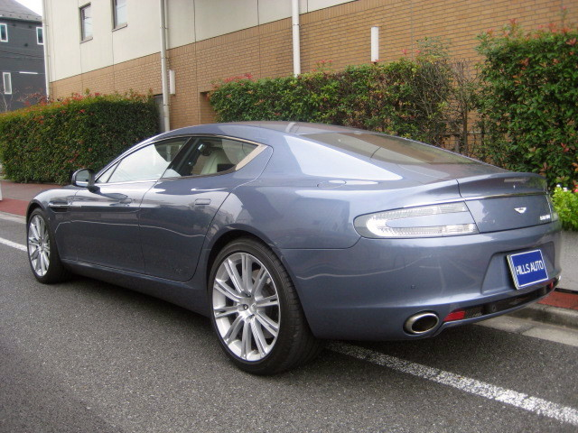 2012 Aston Martin Rapide  V12 Touchtronic 2