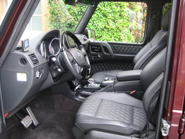 2016 MERCEDES AMG G63 4WD  Desino Exclusive  Interior package