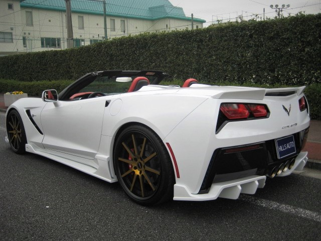 2016 Chevrolet CORVETTE CONVERTIBLE Z51