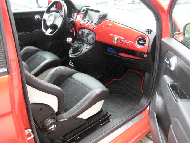 2009 ABARTH 500 FERRARI DEALER`S EDITION