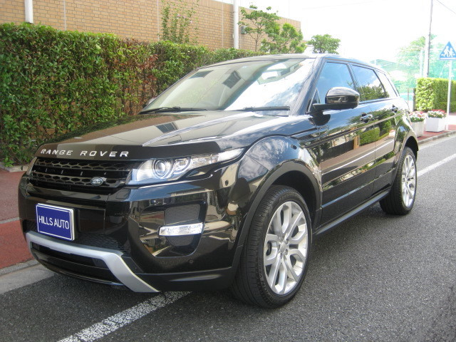 2015 Land Rover Range Rover EVOQUE DYNAMIC 4WD