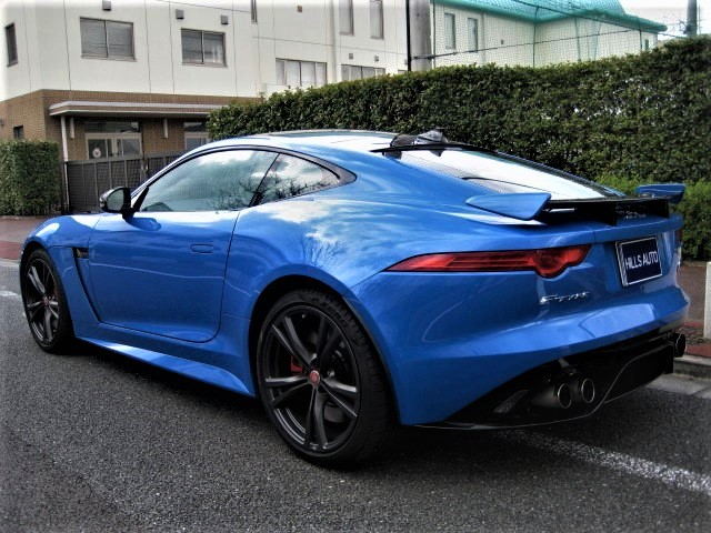 2017 Jaguar F-Type COUPE SVR 4WD