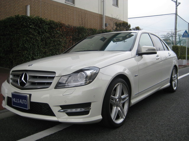 2011 Mercedes-Benz C200 B/F Avant garde  Sports package