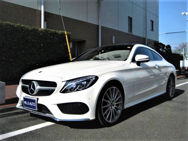 2017 Mercedes-Benz C180 coupe sports  Plus package