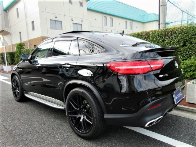 2016 Mercedes-Benz  AMG GLE 63 Coupe S 4 Matic  4WD