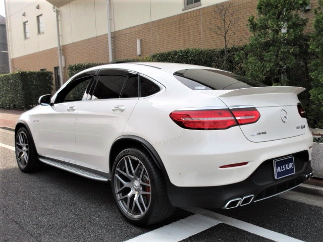 2018 Mercedes-Benz  AMG GLC 63 Coupe S 4 Matic Plus 4WD