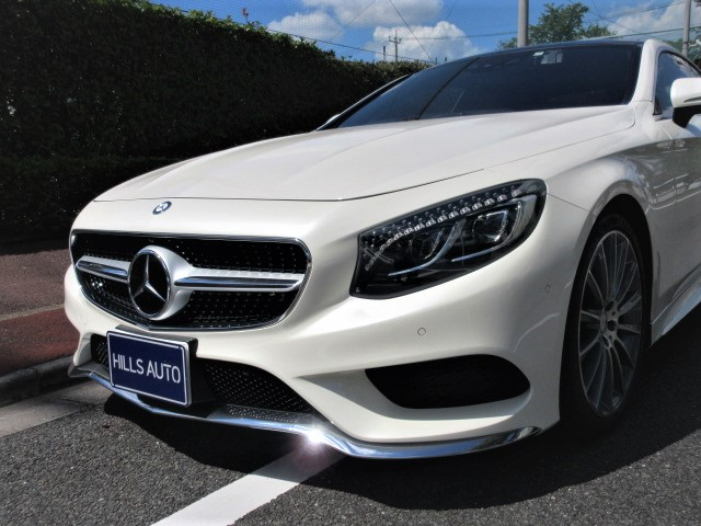 2015 Mercedes-Benz S550 Coupe  AMG line