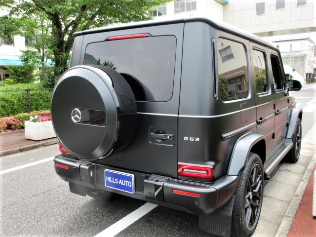 2019 Mercedes-Benz AMG G63 EDITION MATTE BLACK 4WD