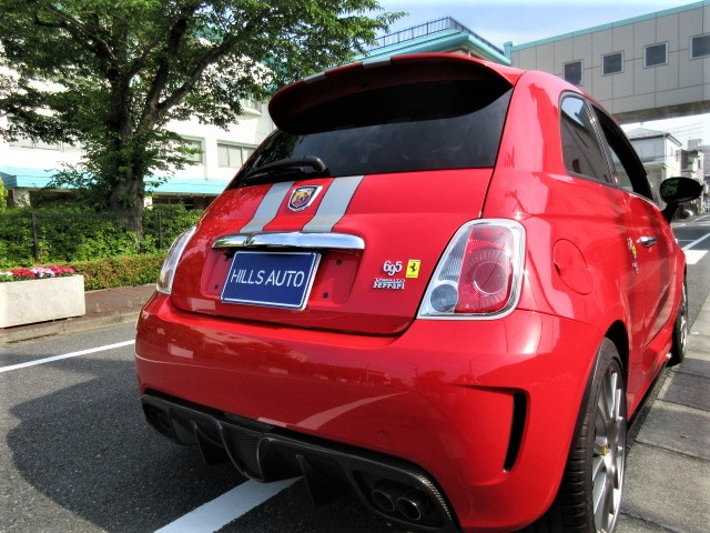 2012 ABARTH 695 Triboot Ferrari 1.4 World limited model