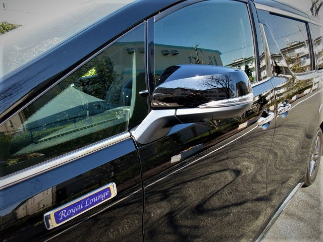 2020 Toyota Alphard 3.5 Royal Lounge S Full partition