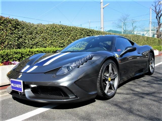 2014 Ferrari 458 Speciale  F1 DCT