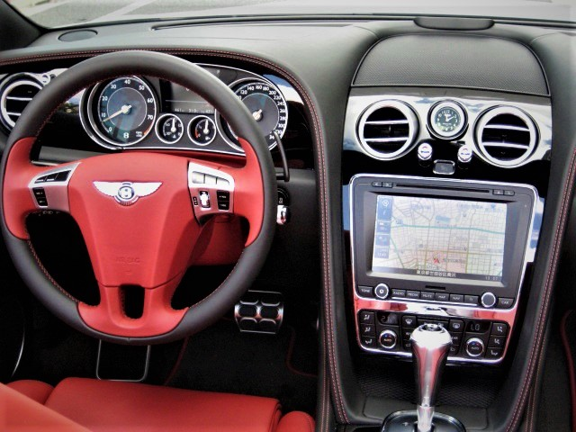 2014 Bentley Continental GT Convertible V8S 4WD