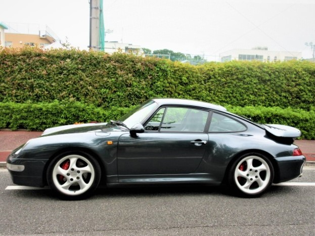 1995 Porsche 911 Turbo 4WD  1996 model