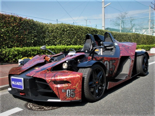2017 KTM X-BOW R Carbon package